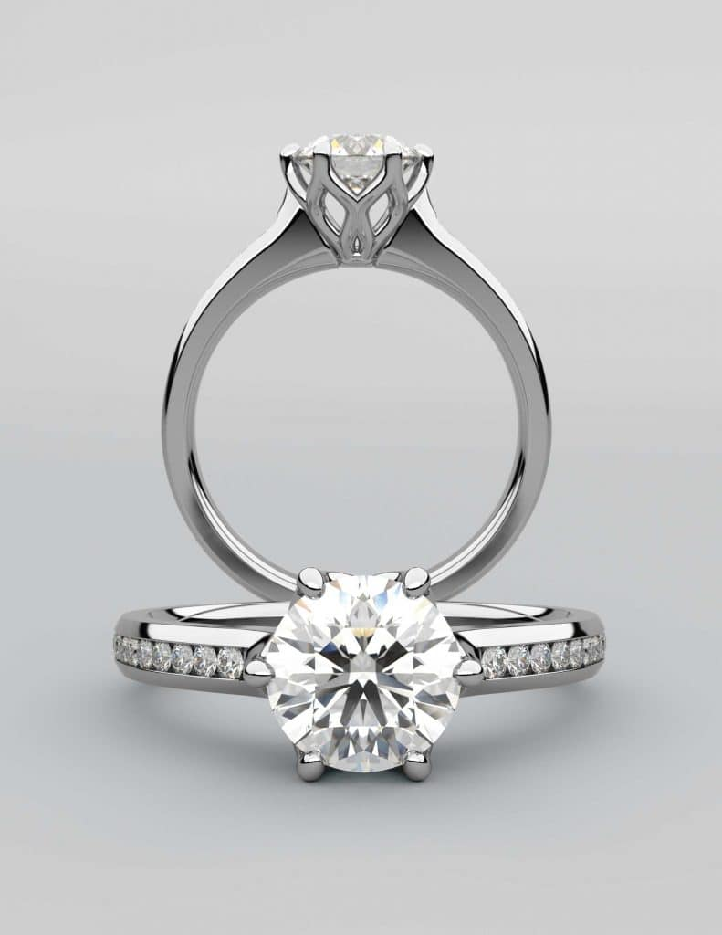 Diamond Engagement Rings by Denver Jewelers