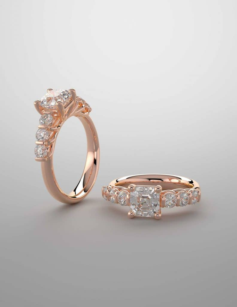 Rose Gold Engagement Rings by Denver Jewelers